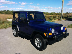 2002 Jeep TJ Sport Cabriolet