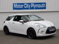 2010 60 CITROEN DS3 1.6 HDI BLACK AND WHITE 3D 90 BHP DIESEL