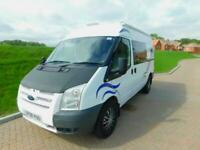 Ford Transit 2.4 Tdci 2008 2 Berth with REAR LOUNGE Camper Van for sale