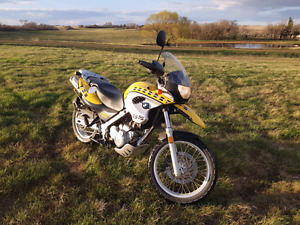 Nice BMW 650GS Adventure,70 MPG, ABS/fuel injected, great shape
