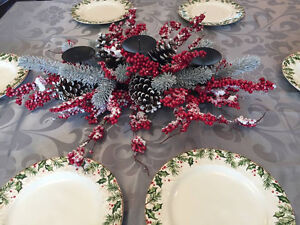 New Christmas tableware & decor {Homesense and Pier1 Imports}