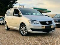 2010 VW TOURAN 1.4 TSI PETROL AUTOMATIC FRESH IMPORT ONLY 19,000 MILES FROM NEW