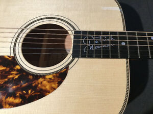 GUITARE ACOUSTIQUE BOUCHER SIGNATURE PATRICK NORMAN