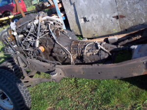 1992-1996 Rolling Chassis Southern Frame (short wheel base)