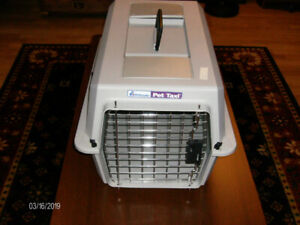 Two Pet Carriers, One Small, One Medium