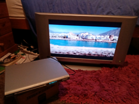 26 inch Phillips HD Television and DVD player