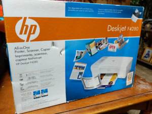 Never opened HP All-in-one colour printer scanner copier