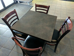 Matching Tables & Chairs