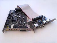 SOUNDBLASTER LIVE VALUE SOUNDCARD, WITH DIGITAL DAUGHTER BOARD! VGC