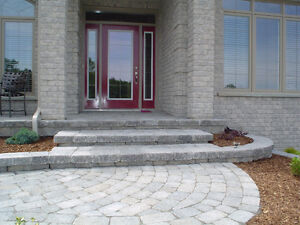 PAVING STONE, PATIOS, STONEWORK, BUILT-IN BBQS, HOT TUB AREAS London Ontario image 3