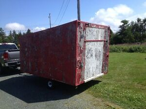 Wanting to Trade My Trailer Foe A Skidoo