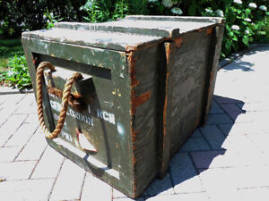 Army box. Military box, Soldiers tote, Army storage box London Ontario image 1