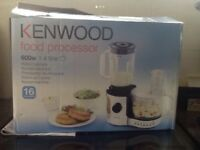 Kenwood food processor as new 600w