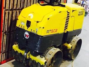 ONLY 38 HOURS! WACKER NEUSON RTSC2 PACKER! $34,000