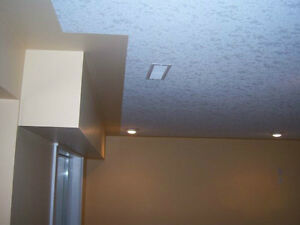 Ceiling texturing service