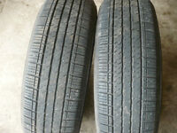 Two 215-70-16   tires   $70.00