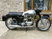 1959 Norton Dominator 600cc