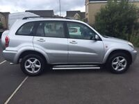 52-REG TOYOTA RAV4 VX VVTI, 5 DOOR LONG MOT GOOD TYRES DRIVES SUPERBLY & FULL LEATHER INTERIOR