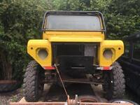 "1995 Land Rover 100"" Off Road Trialer / Buggy, Defender Body"