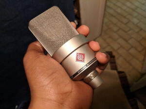 Neumann TLM103 Large Condenser Microphone w/ Box and Shockmount