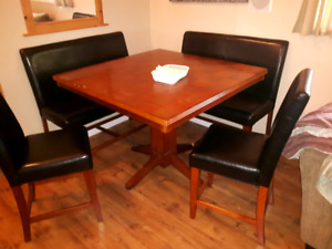 Pub style table chars and benches set