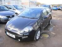 2011 Fiat Punto Evo Hatch 5Dr 1.2 8V 69 SS EU5 My Life Petrol black Manual