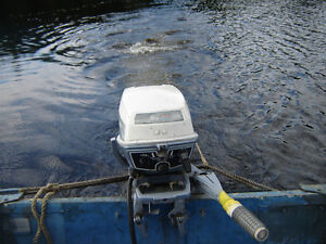 Outboard motor OMC. 1969, 6 HP $675. UPDATE 1 AUG 2016