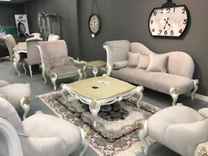 Full Sofa + Full Dining Set 8 Persons - Brand New - Clearance