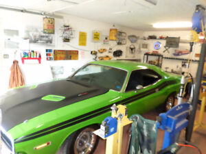 RARE 1970 DODGE CHALLENGER 340 FOUR BARREL