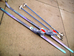 New Condition Cross Country Sets/Skis/Poles & Newer Design Boots