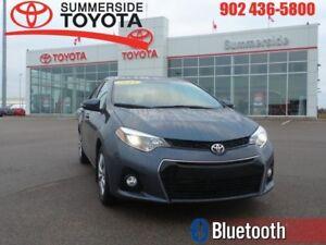 2015 Toyota Corolla S  -  Heated Seats -  Bluetooth - $55.34 /Wk