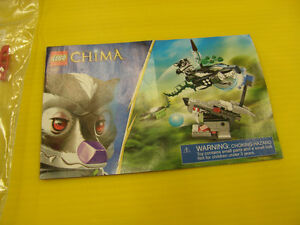 Ensemble Lego Legends of Chima 70107 Skunk Attack - 15$