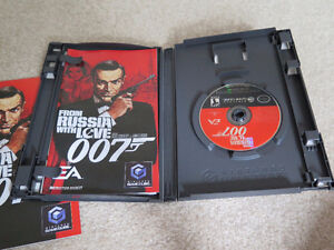 Nintendo Gamecube From Russia With Love James Bond 007 Game London Ontario image 3