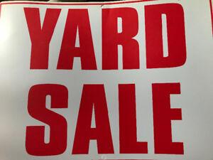 GIANT Yard Sale!