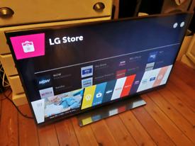 "Lg 50"" smart 3D led TV full HD 1080p excellent."