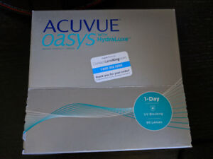 74x Acuvue Oasys Daily Contact Lenses D -0.5 BC 8.5 DIA 14.3