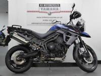 16 REG TRIUMPH TIGER 800 XCX TOP OF THE RANGE GREAT CONDITION FULL SERV HISTORY