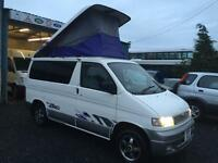Mazda bongo 4wd 2.5 diesel automatic camper auto free top 1996 n reg With rock