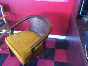 Chairs with fancy caning ,Lovely shape . London Ontario image 3