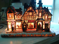 Christmas Village illuminated decoration