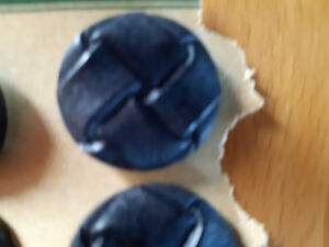 Antique/Vintage Set of 4  New Navy Buttons