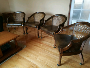 Antique roller chairs
