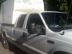 1999 Ford F-350 Pickup Truck with Tuffport Fiberglass Unit
