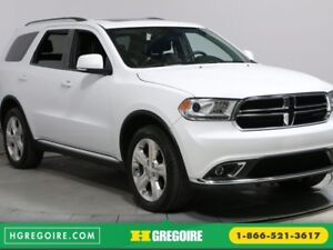 2015 Dodge Durango LIMITED 4WD TOIT CUIR NAV MAGS