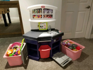Little Tikes Kitchen, Cart and Accessories