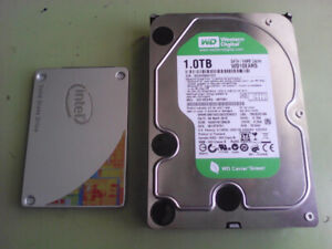 PC SSD/HDD combo