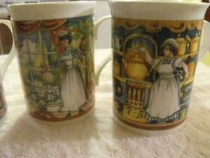 SET OF 5 SADLER WILLINGTON COFFEE MUGS Sarnia Sarnia Area image 5