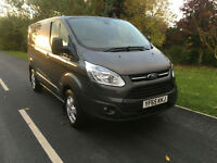 2015 65 FORD TRANSIT CUSTOM LIMITED TOP SPEC 2.2TDCI 125BHP 270 ONLY 9000 MILES