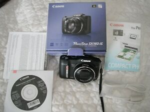 canon power shot digital camera sx160 is carry case too