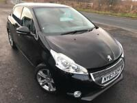 PEUGEOT 208 1.2 82BHP ALLURE £32 WEEK GREAT 1ST CAR BLUETOOTH CRUISE 5DR 2013